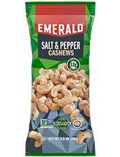 salt and pepper cashews 2.5oz package